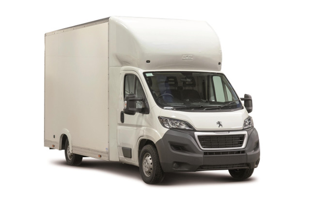 Peugeot Boxer Low-Floor Luton