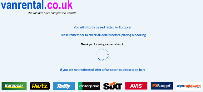 vanrental.co.uk exit page
