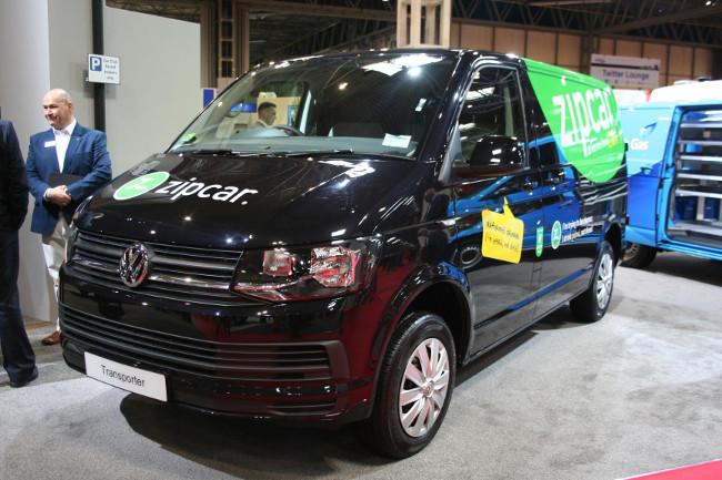 Zipcar petrol-powered VW Transporter