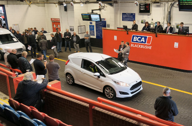 BCA van auction