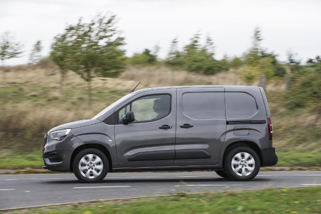 The new 2019 Vauxhall Combo