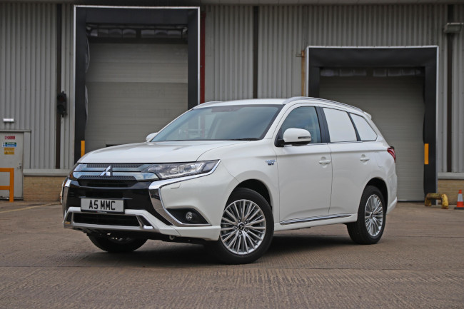 The new Mitsubishi Outlander PHEV Commercial. This plug-in hybrid is exempt from the London ULEZ and the Congestion Charge